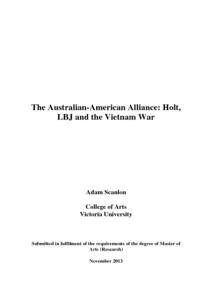 Good thesis statements on the vietnam war